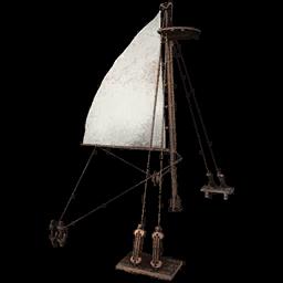 Small Handling Sail | Atlas Wiki